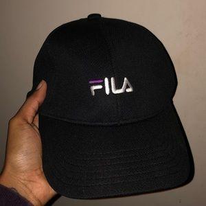 FILA OFFICIAL CAP (Purple Detail)